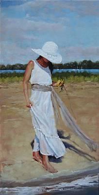 Quincy Painting - Madison Study 1 by Laura Lee Zanghetti