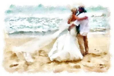 Digital Art - Madly In Love by Carrie OBrien Sibley
