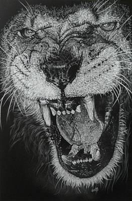 Madness Art Print by Barbara Keith