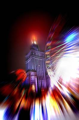 City Photograph - Madness Of The City by Nathalie Hope