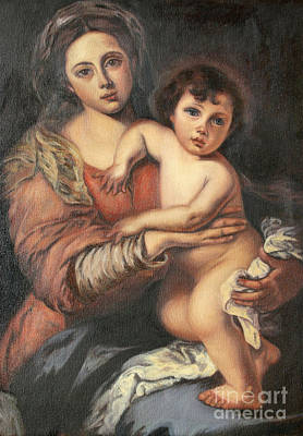 Painting - Madona And Child by Mukta Gupta