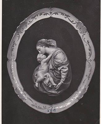 Madonna And Child Art Print by Allan Koskela
