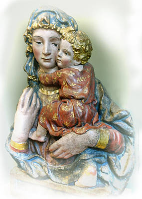 Photograph - Madonna And Child  by Ann Powell