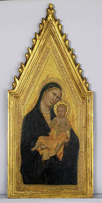 Siena Italy Painting - Madonna And Child by Barna da Siena