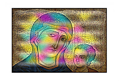 Madonna And Child Original by Bret DaCosta