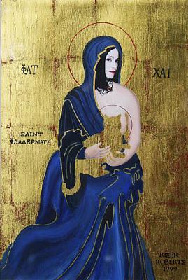 Madonna And Child Art Print by Eve Riser Roberts