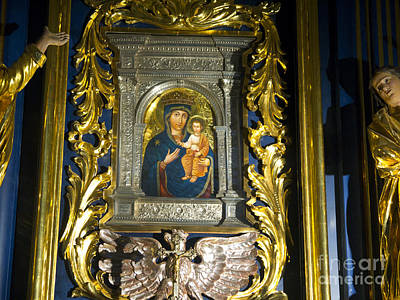 Photograph - Madonna And Child In Krakow by Brenda Kean