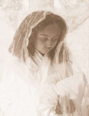 Photograph - Madonna And Child by Jodie Marie Anne Richardson Traugott          aka jm-ART