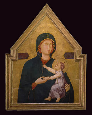 Painting - Madonna And Child by Master of St Cecillia