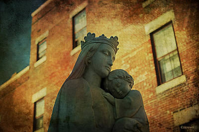 Photograph - Madonna And Child by Terry Rowe