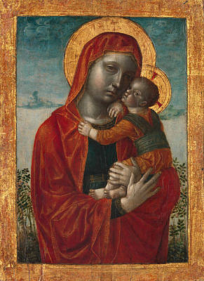 Vincenzo Foppa Painting - Madonna And Child by Vincenzo Foppa