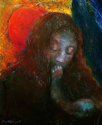 Madonna Art Print by Daniel Bonnell