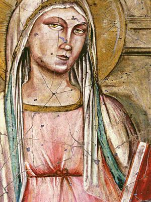 Madonna Painting - Madonna Del Parto - Study No. 1 by Steve Bogdanoff