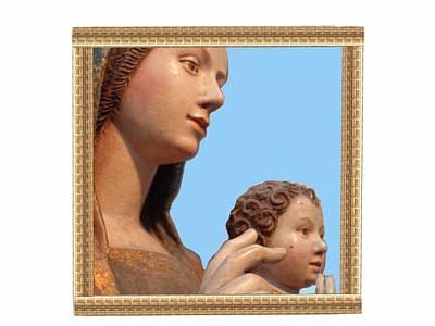 Madonna Delle Grazie O Dell'idria Print by Nikki Keep