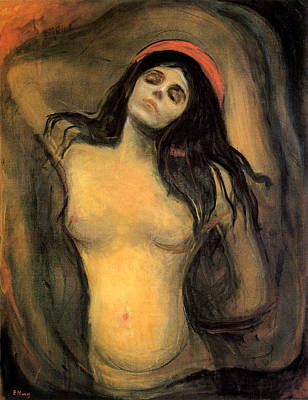 Painting - Madonna by Edvard Munch