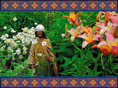 Photograph - Madonna Garden by Lynn Hansen
