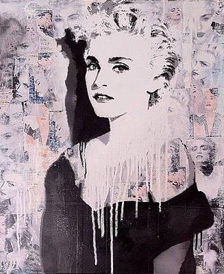 Madonna Art Print by John Little