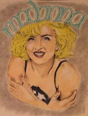 Michael Mcgrath Painting - Madonna  by Michael McGrath