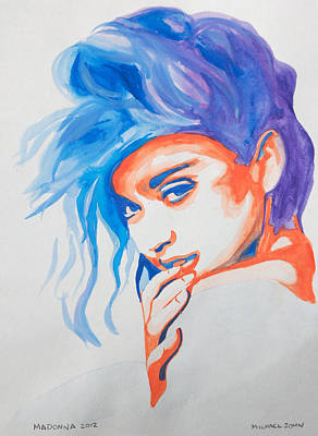 Painting - Madonna by Michael Ringwalt
