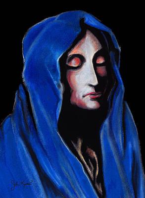 Drawing - Madonna Of Sorrows by John Keaton