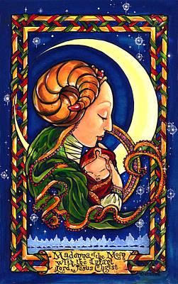 Madonna Of The Moon Art Print