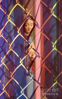 Madonna Photograph - The Virgin Art Print by Sharon Hudson