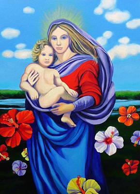 Madonna Rafaelina Art Print by Kyra Belan