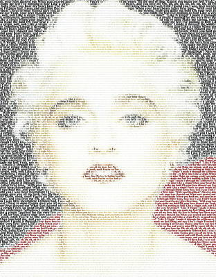 Stellar Interstellar - Madonna Virgin Mosaic by Paul Van Scott