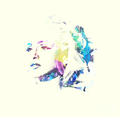 Madonna Digital Art - Madonna - Digital Art by Veronica Crockford