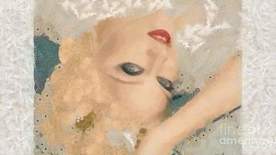 Madonna Wow Art Print