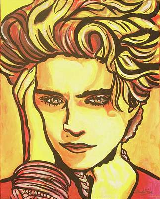 Madonna's Fire Art Print by Lorinda Fore