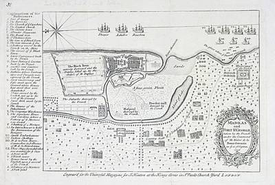Cartography Photograph - Madras And Fort Stgeorge by British Library