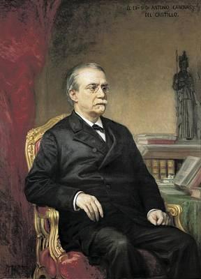 Madrazo, Ricardo 1851-1917. Portrait Art Print by Everett