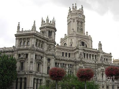Photograph - Madrid City Hall by Deborah Smolinske