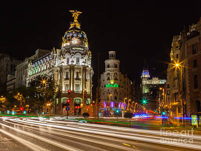 Photograph - Madrid by Eugenio Moya