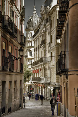 Anchor Down Royalty Free Images - Madrid Streets Royalty-Free Image by Joan Carroll