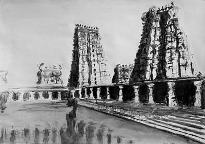Madurai Meenakshi Temple India Original