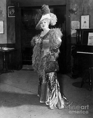 Movie Star Photograph - Mae West by MMG Archives