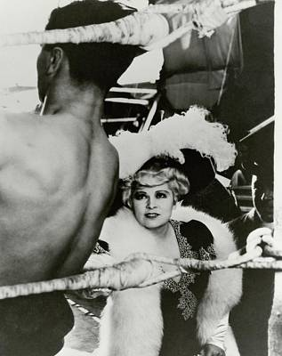 Photograph - Mae West On The Set Of It Ain't No Sin by George Hoyningen-Huene