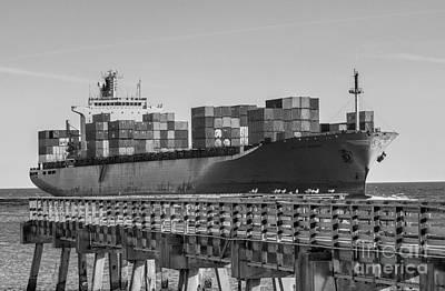 Maersk Shipping Line Art Print