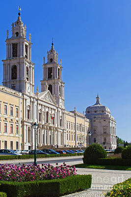 Church Art Photograph - Mafra National Palace And Convent by Jose Elias - Sofia Pereira