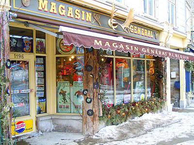 Photograph - Magasin General Store by Anne Gordon
