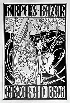 Magazine Cover, 1896 Art Print by Granger