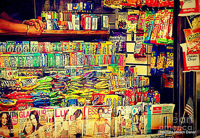 Photograph - Magazines And Candy by Miriam Danar