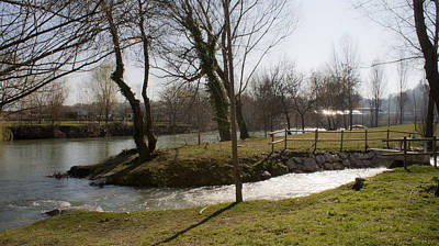 Photograph - Magdalenas River by Isusko Goldaraz