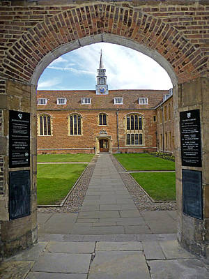 Photograph - Magdalene College Cambridge by Gill Billington