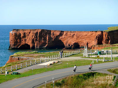 Photograph - Magdalene Islands Landscape by Rachel Gagne