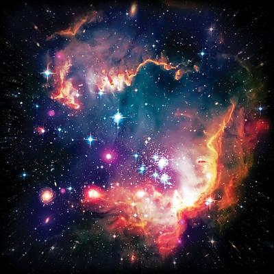 Magellanic Cloud 1 Art Print by Jennifer Rondinelli Reilly - Fine Art Photography