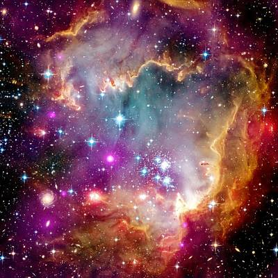Photograph - Magellanic Cloud by Benjamin Yeager