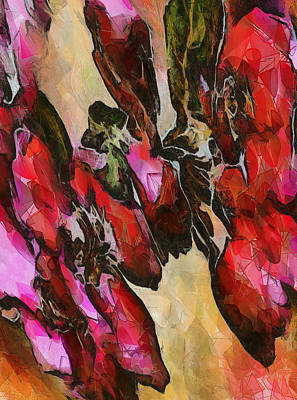 Painting - Magenta by Charles Muhle